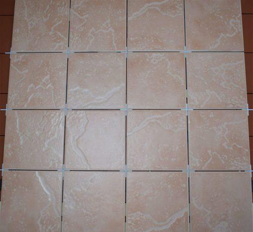 Johnsons DUNE5A Terracotta effect Wall Tiles 150x150mm in grey