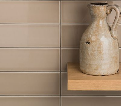 Johnson Savoy SAVO3A Brick Grain Gloss Ceramic Wall Tile (300x100mm)