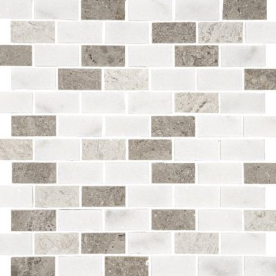 Johnson Natural Mosaic Series SMSM2A Silver Mix Brick 305x305x10mm