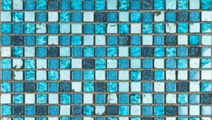 leftover tiles - mosaic mirror