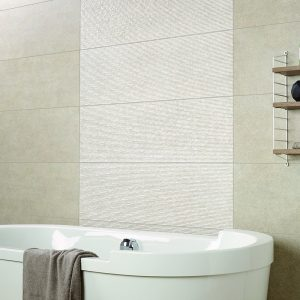 large format tiles - small bathroom