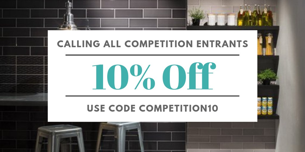 10% Off For All Competition Entrants