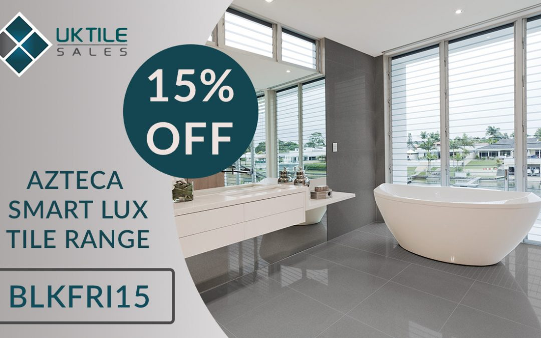 Black Friday Tiling Event: 15% Off Azteca Smart Lux Tiles