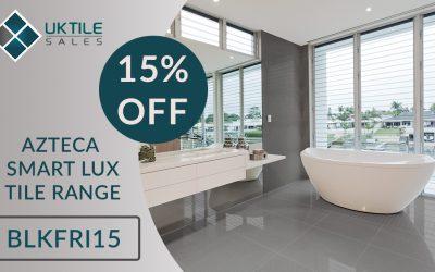 Black Friday Tiling Event: 15% Off Azteca Smart Lux Tiles