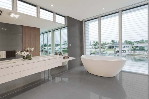 Azteca Smart Lux Porcelain Tiles Graphite