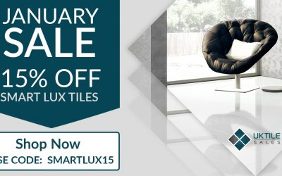 January Tiling Sale – 15% Off Azteca Smart Lux Tiles