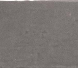 Country Series Graphite EQ-3 Brick Ripple Gloss Ceramic Wall Tile (200x65x8mm)