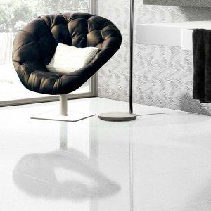 Azteca Smart Lux Porcelain Tiles White