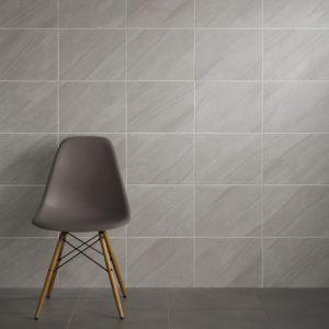 Johnsons Grasmere GRA2A Slate/Grey room displaying tiles