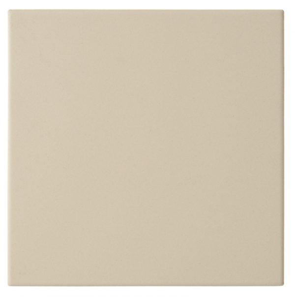 Dorset Woolliscroft Plain White DW-FLWHT1515 Porcelain Quarry Tiles 148x148x9mm