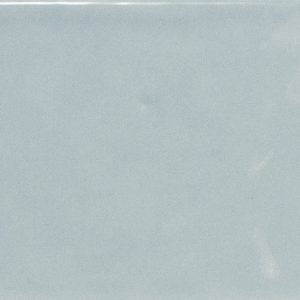 Country Series Ash Blue Brick Ripple Gloss Ceramic Wall Tile