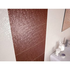 Pamesa Capua Multi Perla Crackle Effect Gloss Ceramic in bathroom