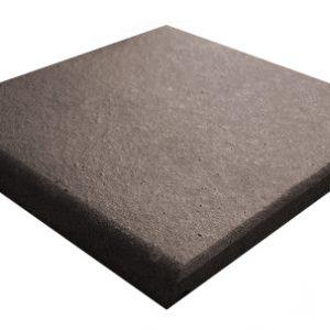 Gres De Aragon Black RE Round Edge Quarry Tiles