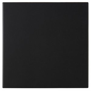 Dorset Woolliscroft Plain Black DW-FLBLK1515 Porcelain Quarry Tiles 148x148x9mm