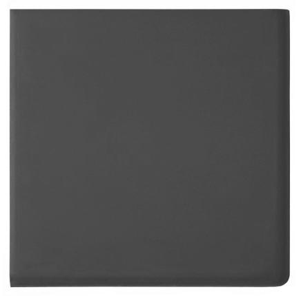 Dorset Woolliscroft Plain Black Porcelain REX Quarry Tiles