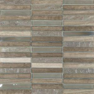 Skyline Marble Glass Mix Grey  tiles