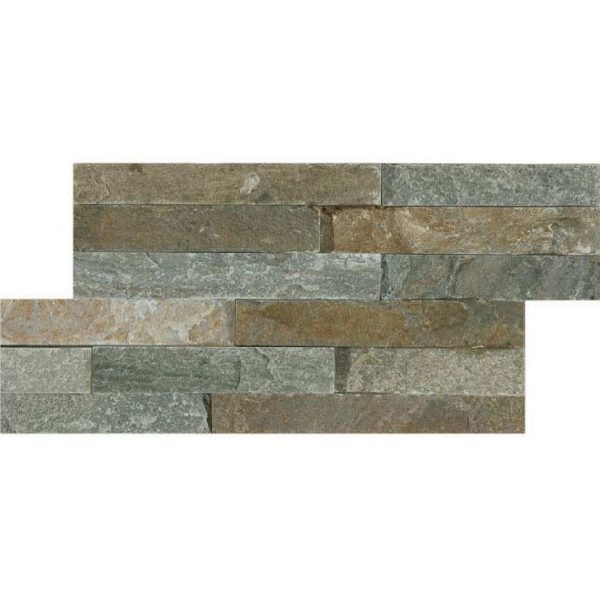 HB Slate Series Quartz Arenisca Grey Mosaic Brick