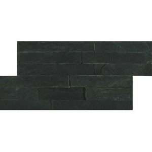 HB Slate Series Black Mosaic Brick Piece