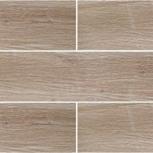 Grove Series Wood Effect Tortora Porcelain Floor Tiles