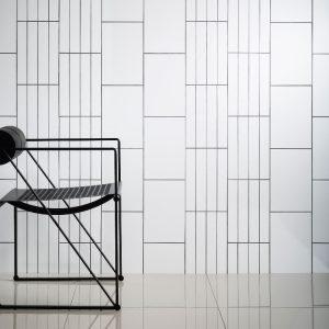 Johnson Granada Series Pure White Ceramic Gloss Wall Tile