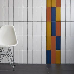 Johnson Polar Series Chroma Snow Satin Ceramic Wall Tile