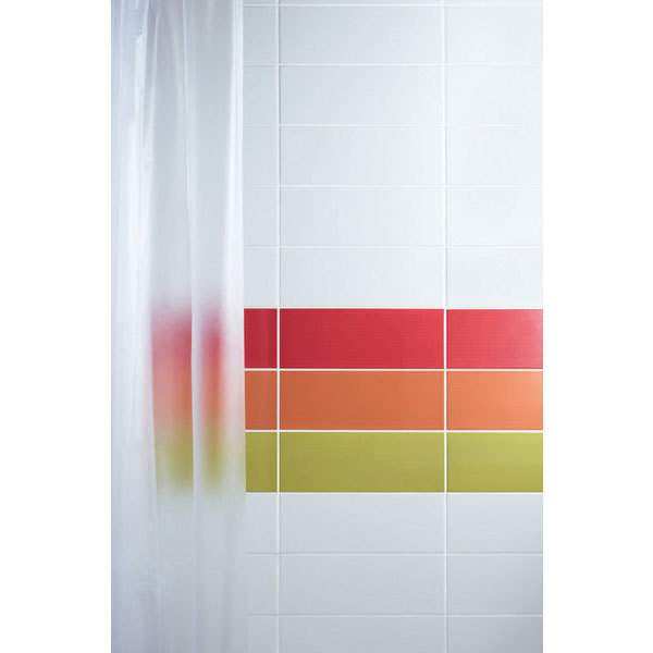 Johnson Vivid Orange Gloss Brick Ceramic Wall Tile