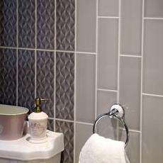 Johnson Savoy Brick Dew Gloss Ceramic Wall Tile