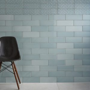 Johnson Savoy Brick Leaf Gloss Ceramic Wall Tile