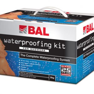 BAL  Complete Waterproofing Kit For Showers/Wet Rooms