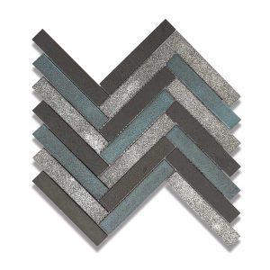Lava Avalon Herringbone Mosaic