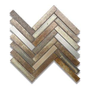 Lava Tanzania Herringbone Mosaic